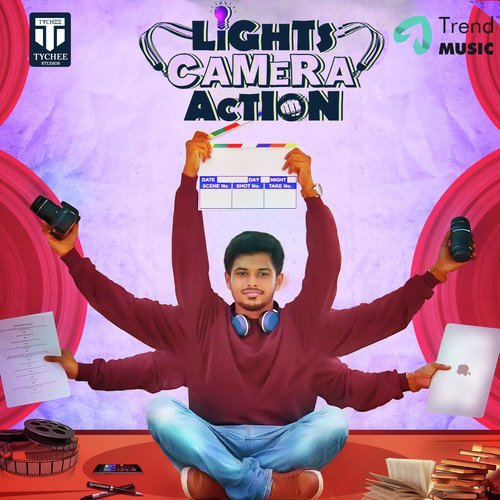 Lights Camera Action Movie Poster