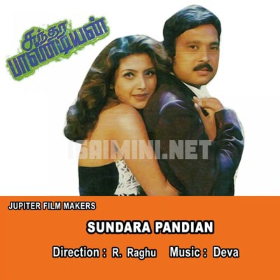 Sundara Pandian Movie Poster